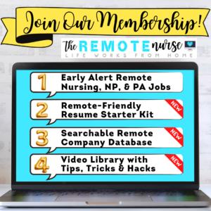 The Remote Nurse Membership
